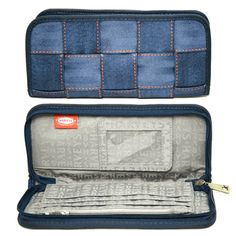 Seatbelt Bag - Blue Jeans Clutch Wallet