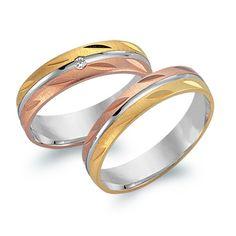 Trauringe 585er Tricolorgold mit Brillant WR0551-5s https://www.thejewellershop.com/Trauringe_585er_Tricolorgold_mit_Brillant_WR0551-5s_i19_7829_0.htm #weddingring #thejeweller #jewelry #hochzeitsringe #tricolor #roségold #gelbgold #weißgold