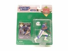 Marshall Faulk Indianapolis Colts Starting Lineup NFL action figure NIB Kenner New in Package #MarshallFaulk #Faulk #IndianapolisColts #Colts #NFL #Kenner #ActionFigures #StartingLineup #NationalFootballLeague #MarvelousMarvs