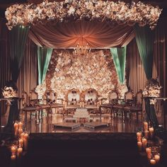 Traditional or contemporary, Indian weddings are never complete without the lavish use of flowers. Here are some ideas to beautify your wedding mandap decoration with flowers while keeping your budget, colour palette and style in check. Wedding Ceremony Ideas, Wedding Mandap, Wedding Stage Decorations, Wedding Themes, Wedding Bride, Desi Wedding Decor, Wedding House, Engagement Decorations, Wedding Rings