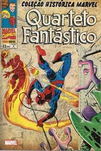 LIGA HQ - COMIC SHOP COLECAO HISTORICA QUARTETO FANTASTICO #4 - Quarteto Fantástico - Marvel PARA OS NOSSOS HERÓIS NÃO HÁ DISTÂNCIA!!!