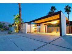 Home - House Garden Landscape Carport Plans, Carport Garage, Carport Ideas, Garage Doors, Garage Ideas, Car Garage, Carport Designs, Pergola Designs, Palm Springs Mid Century Modern