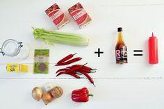 Ketsupin aineet_Rajamäen Homemade Ketchup, Cooking Recipes, Base, Sauces, Food, Chef Recipes, Essen, Meals, Eten