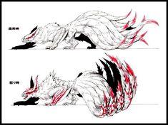 Monster Art, Monster Hunter Art, Monster Concept Art, Alien Concept Art, Creature Concept Art, Fantasy Monster, Monster Design, Creature Design, Mythical Creatures Art