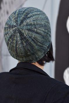Circled 2 pattern by Woolly Wormhead | malabrigo Sock in Aguas