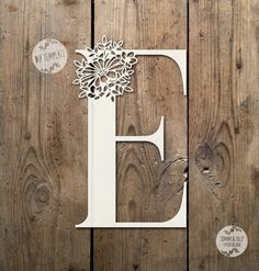 Floral Letter 'F' SVG PDF Design - Papercutting Vinyl Template Commercial Use - Papercut - nursery papercut - new baby papercut Kirigami, Paper Cutting, Laser Art, Paper Cut Design, Paper Lace, Floral Letters, Scroll Saw, Lettering Design, Paper Crafts