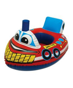 Look what I found on #zulily! Boat Pool Rider by Poolmaster #zulilyfinds