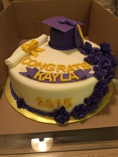 Graduation Cake 6-7-15