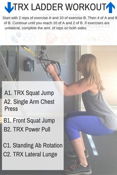 TRX Ladder Workout & Activity Packed Snacks with Chobani - Your Trainer Paige