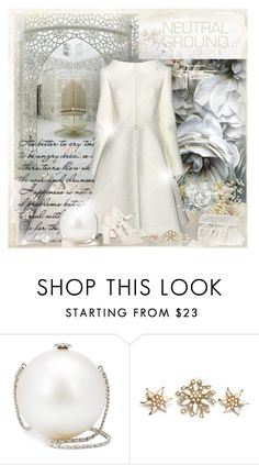 """""""Cool Neutrals"""" by dezaval ❤ liked on Polyvore featuring Chanel, Dolce&Gabbana and neutrals"""