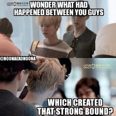 This is a serious thought. Most fans saw Luhan and Sehun as love bird couple. But from the noonas point of view they are more look like a real blood related brothers. Just like #Hanchul bromance. So we really wonder that there must be something happened in the past which makes them naturally tied a strong bound. Considering the fact that Luhan's trainee times was shorter than other members, wouldn't it be more reasonable if Sehun are closer to Suho, Chanyeol, or even Kai? But why, as what we…