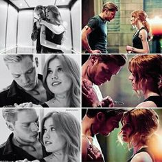 Clace season 1- season 2 #shadowhunters Cant wait to see them in season 3 though, seriuos stuff is going to happen!!