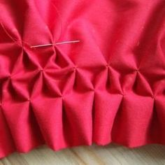 How to Create Smocking {Smocking}Smocking is a beautiful detail to add to your sewing project. This tutorial will teach you how to create this classic detail. You'll need chalk, measuring tape and a needle with thread. Not as hard as you'd think!View This Tutorial