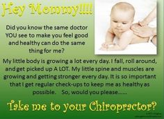Getting your kids nervous systems checked in a regular basis is one of the most important things you can do the help them reach their full potential in life!  Our son has had chiropractic care from birth, and we serve MANY kids every day in our office.  We all want the absolute best for our kids, and this is one way to assure that happens.