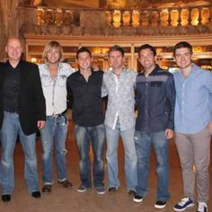 .Celtic Thunder originals, George Donaldson, Keith Harkin, Neil Byrne, Ryan Kelly with Colm Keegan and Emmet Cahill (3r) 6r)