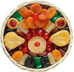 Broadway Basketeers Heart Healthy Floral Dried Fruit (Medium) Gift Basket $24.95