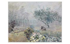 Imagenes de las obras del pintor francés Alfred Sisley