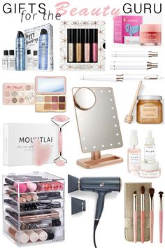 Erin Elizabeth of Wink and a Twirl shares the perfect beauty gifts for the beaut. Erin Elizabeth of Wink and a Twirl shares the perfect beauty gifts for the beauty guru in your life Cool Gifts For Teens, Birthday Gifts For Teens, Christmas Gifts For Girls, Diy Birthday, Christmas Ideas, Christmas Present Ideas For Teenage Girl, Teenage Girl Birthday, Best Gifts For Girls, Mother Birthday