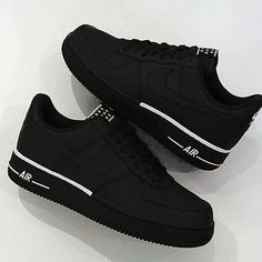promo code f1349 3ce87 1 2 3 4 5 or 6  - Follow  rivped For More -  . Black Shoes SneakersBlack  Nike ...