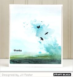 There's a video for making this and other cards from watercolors and ink stamps.