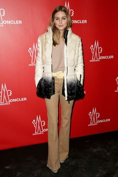 Olivia Palermo and Johannes Huebl - Moncler Grenoble Fall/Winter 2015 - February 14, 2015