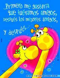 Resultado de imagen para frases de amor con dibujitos Luis Fernandez, Love Images, E Cards, First Love, Happy Birthday, Clip Art, Messages, Crafty, Ahs