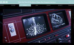 「ローグ・ワン/スター・ウォーズ・ストーリー」デス・スター司令部インターフェースの高画質画像!