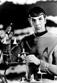 Leonard Nimoy as Spock, one of the most fascinating and endearing characters to grace the wonder that is Star Trek. Can you tell I'm a Trekkie? Star Trek 1966, Star Trek Tv, Star Wars, Star Trek Original Series, Star Trek Series, Science Fiction, Canal 13, Star Trek Images, Cinema
