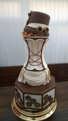 Steampunk wedding Cakes Steampunk Wedding Cake Austin TX