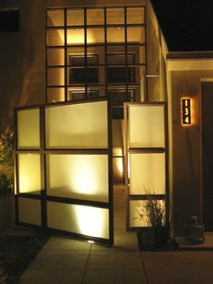 Contemporary Front Gates And Fences Design, Pictures, Remodel, Decor and Ideas - page 2
