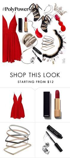 """""""Girl Power"""" by iiannanasii ❤ liked on Polyvore featuring Ally Fashion, Paul Andrew, BUwood, Chanel, Topshop, Bobbi Brown Cosmetics, L'Oréal Paris and Estée Lauder"""