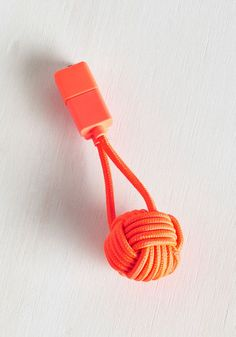 Knot Your Average Charger Key Cable - From the Home Decor Discovery Community at www.DecoandBloom.com