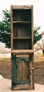 all materials are carefully selected from old barns and fences as well ...