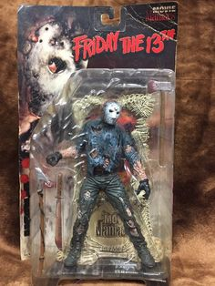 McFarlane Toys Jason Voorhees Friday the 13th Movie Maniacs Action Figure | Toys & Hobbies, Action Figures, TV, Movie & Video Games | eBay!