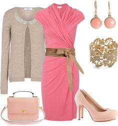 """""""pink wednesday"""" by avonturella ❤ liked on Polyvore"""