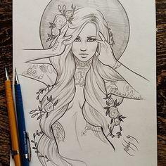 Wendy Ortiz tattoo design