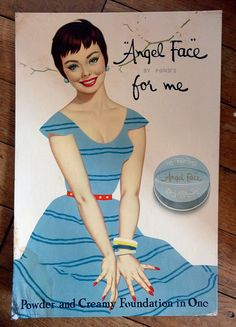Ponds Angel Face - Vintage Pin Up cosmetic Ad by Ptitemome, via Flickr