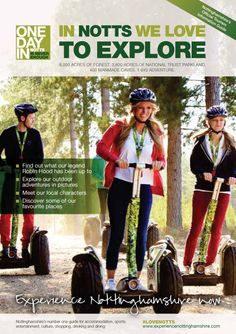 This is the Explore Nottinghamshire 2013 Brochure