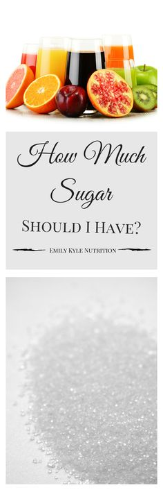 The 2015 Dietary Guidelines for Americans have been released and they recommend that no more than 10% of our total calories come from added sugar. That leaves many asking: How Much Sugar Should I Have?