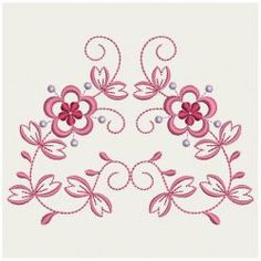 Decorative flowers 07 machine embroidery designs