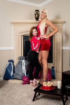 Short bbw vs tall girl