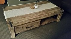 Rustic beach Coffee table french new condition