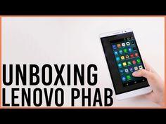 Unboxing Lenovo Phablet PHAB 6.9 Pulgadas - YouTube