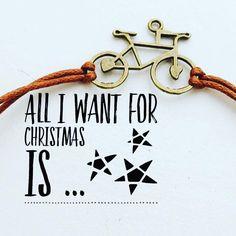 Deze leuke fietsarmbandjes voor onder de kerstboom