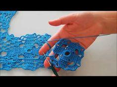 Kare Motiflerle salon takımı battaniye yapılışı&crochet&tejido - YouTube
