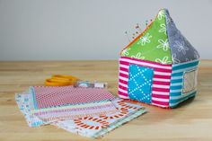 Dining Room Empire: Pincushion Party for Good Neighbors Fabric