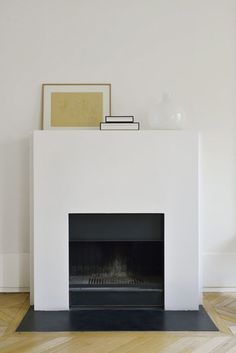 Fireplace Details #Appartmentdecoration Minimalist Fireplace, Simple  Fireplace, Stove Fireplace, Fireplace Wall,