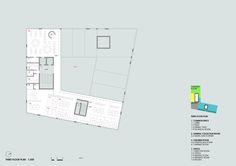 Daegu Gosan Public Library Competition Entry / Group8,third floor plan