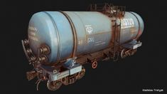 Tanker by Vladislav Tretyak on ArtStation. Environment Concept Art, Environment Design, Character Modeling, Game Character, Polygon Modeling, 3d Modeling, Realistic Games, Blender Tutorial, Game Props