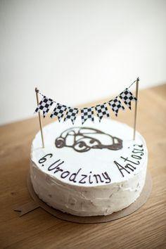 Vintage birthday cake.